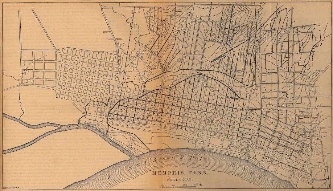 Aperçu de l'historique du réseau d'égouts urbains en Amérique du Nord